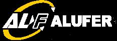 logo ALUFER 11 BLANCO